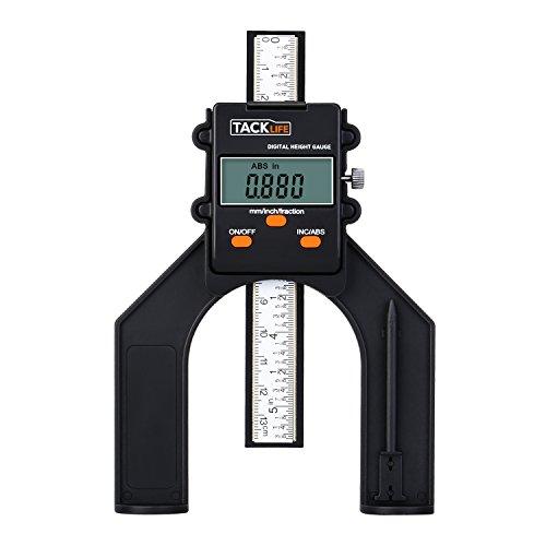 Tacklife Wood Moisture Meter Wm01 Lcd Digital Damp Meter