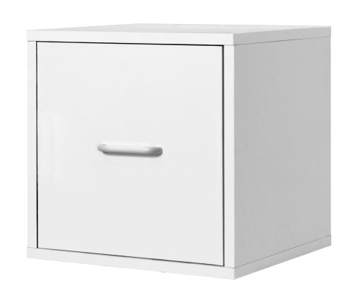 Foremost 390101 Modular File Cube Storage System White