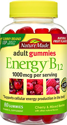 Nature Made Digestive Probiotics + Energy B12 Gummies, 50
